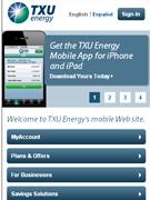TXU Energy..